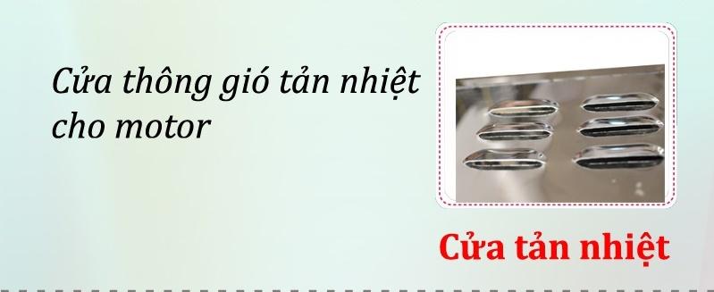 cửa thông gió máy vặt lông gà Việt Nam