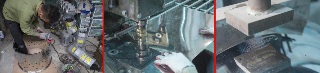xưởng sản xuất máy vặt lông gà Viễn Đông
