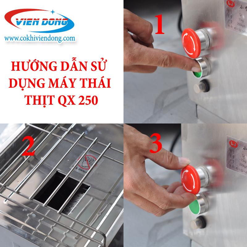 cach su dung may thai thit