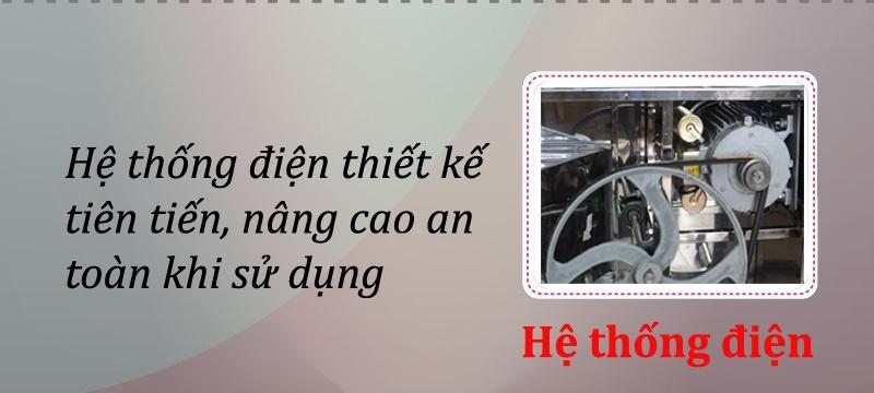 hệ thống điện máy vặt lông gà Việt Nam