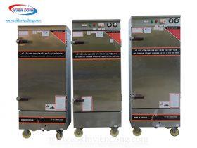 tủ hấp 12 khay gas- điện- điện & gas (6)