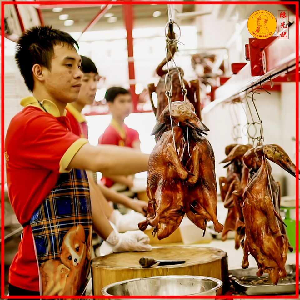 Nâng cao chất lượng và hương vị cho vịt quay