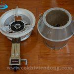 Lò quay vịt dùng gas có gì khác lò quay vịt dùng than ?