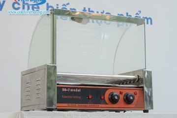 Máy nướng xúc xích lên nhiệt kém