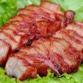 thịt heo nướng lu thơm ngon