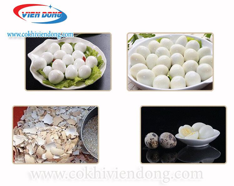 Máy bóc trứng