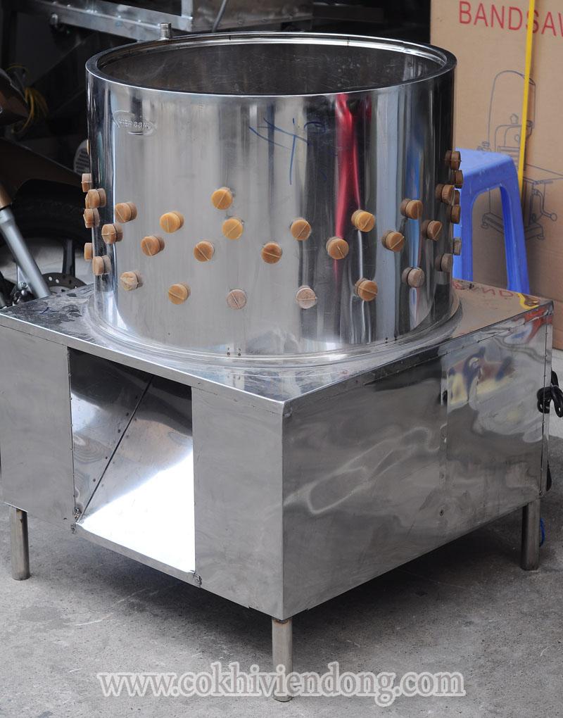 chất liệu inox của máy vặt lông gà vịt