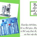 Lựa chọn máy dập nút chai thủ công hay bán tự động ?