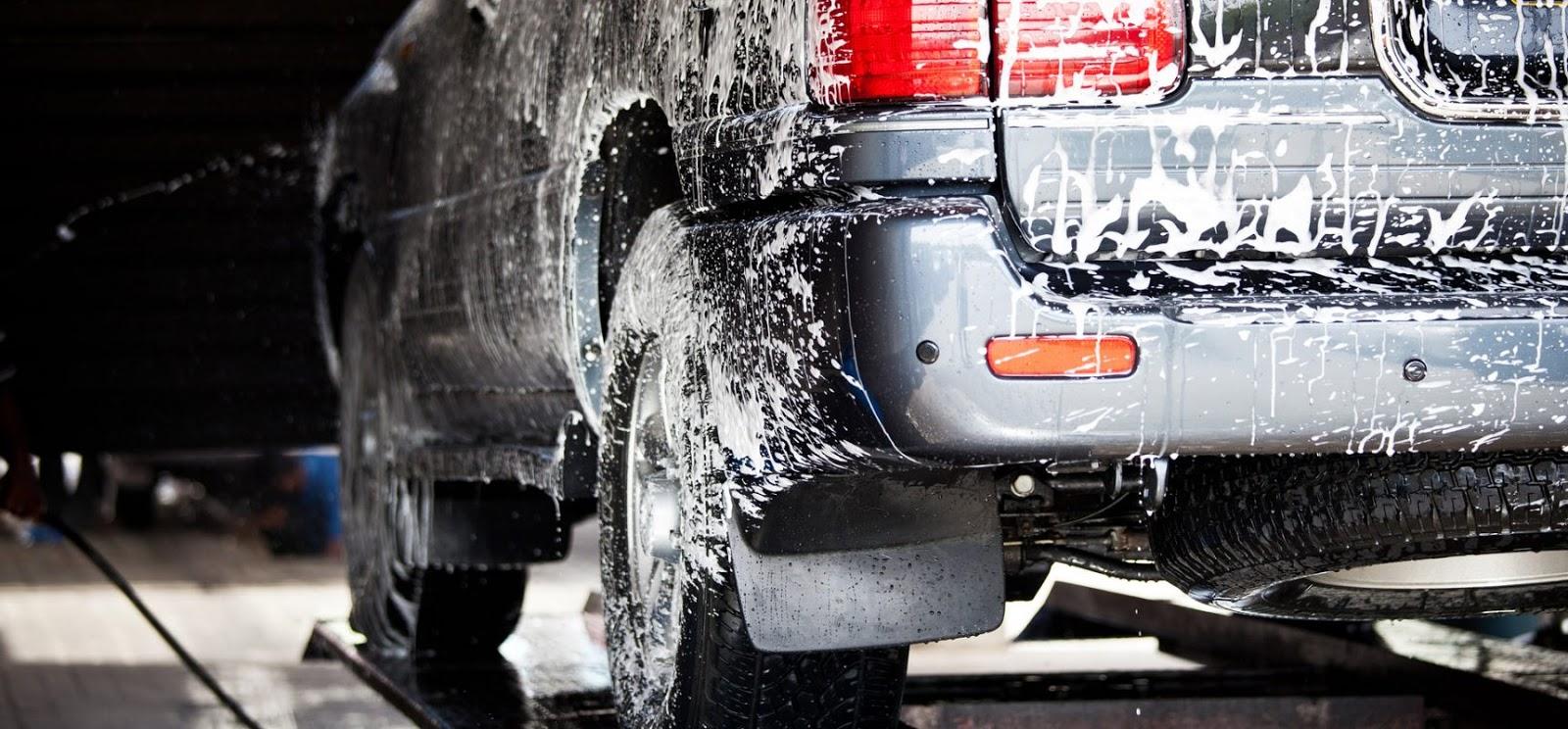 bộ đồ nghề rửa xe ô tô