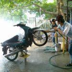 Mở tiệm rửa xe máy cần bao nhiêu vốn là đủ?