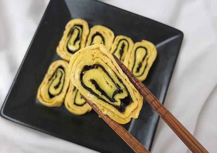 trứng cuộn rong biển