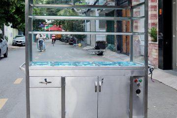 Tủ giữ nóng thức ăn cũ
