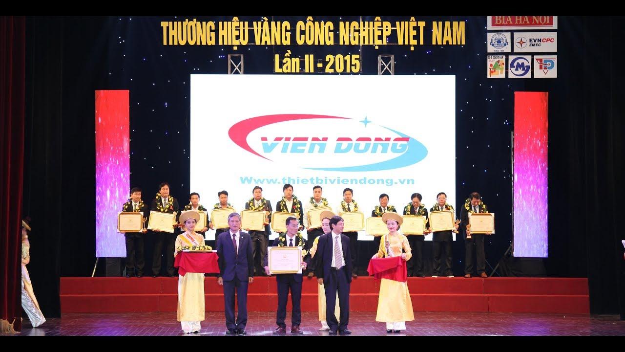 giải thưởng thương hiệu vàng Việt Nam của Viễn Đông