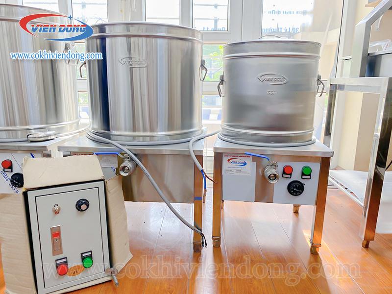 Ai sử dụng nồi đun nước dùng bằng điện 80L?